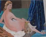 La grande Odalisque. Francoise Charvieux