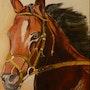 Tète de cheval. Françoise Charvieux