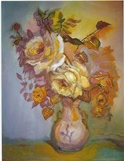 Bouquet floral. Francoise Charvieux