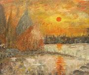 Le soleil rouge. Fernando Gomila