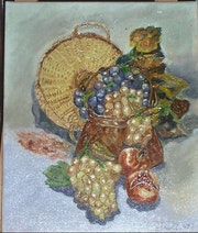 Panier aux raisins.