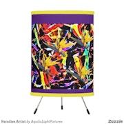 Paradise Artist Tripod Designer Lamp.