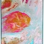 -Oeuvre «vanilla» - artwork «vanilla»-. Peintre Abstrait Contemporain