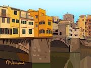 2020-07-27 Ponte Vecchio. Michel Normand