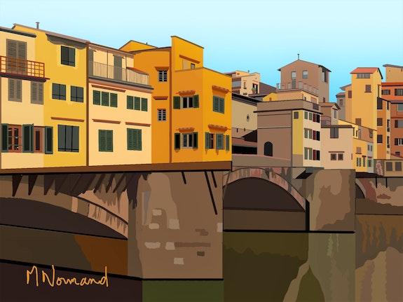 2020-07-27 Ponte Vecchio. Michel Normand Michel Normand