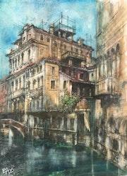 Venise- palais Widmann. Emilian Alexianu