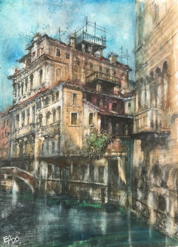 Venise- palais Widmann. Emilian Alexianu Emilian Alexianu