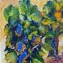 Pieds de vigne. Pascal Graul
