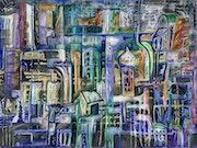 Die graue Stadt mit Zwiebeltürmchen. Thomas Edgar B.