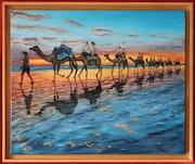 Caravane des sables. Jean-François Briand