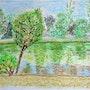 Promenade autour d'un étang. L'ouvrage De Jeanne: Hélène Dutour