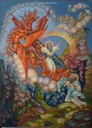 Огненное восхождение пророка Ильи.