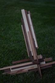 Escultura madera. Andrea Iglesias