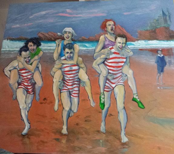Biarritz année 30. Pm Patrick Mancho