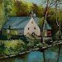 Le moulin de rosmadec (pont-aven).