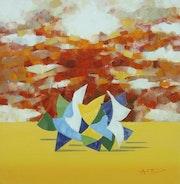 Sky And Figures 10. Angel Patchamanov