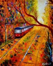 Ultimo tren de la vieja via2. Pintorcheco