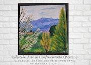 Vistas al áramo desde mi ventana. Primavera 2.020. Asturias. Lucía Rodríguez Jiménez