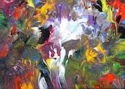 Pich'magic abstract art n°136. Pich