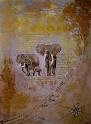 Les éléphants. Jean Michel Piva