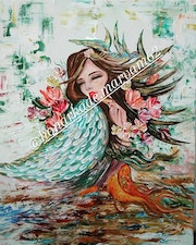 Girl, s sea. Maryam Gholami62