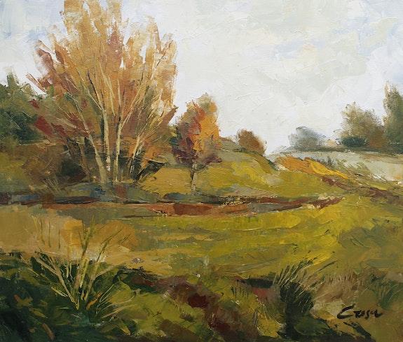 64-Otoño, acrílico sobre lienzo 46x55 cm. Crosa