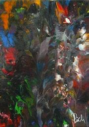 Pich'magic abstract art n°132.