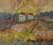 Maisons et arbres. Fernando Gomila