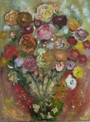 Bouquet de fleurs. Nathalie Vareille Sorbac