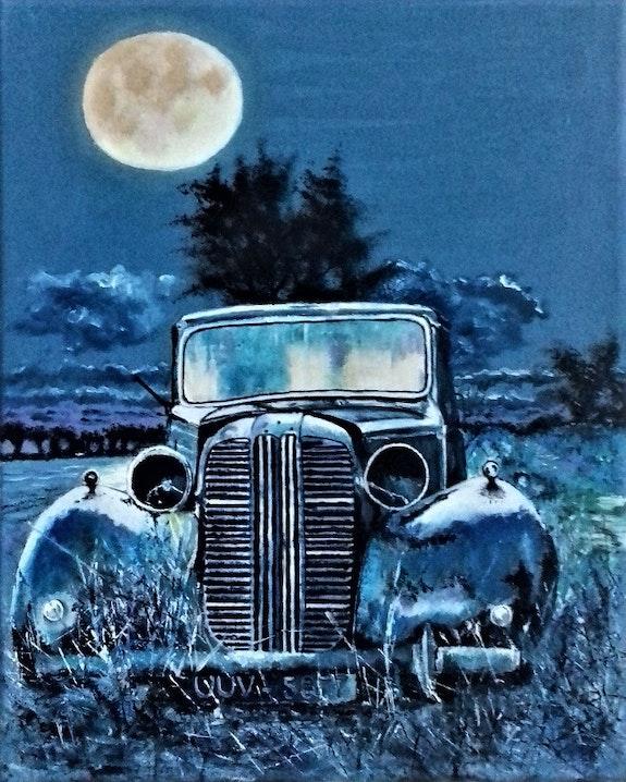 Bleu nuit. Maurice Maurice