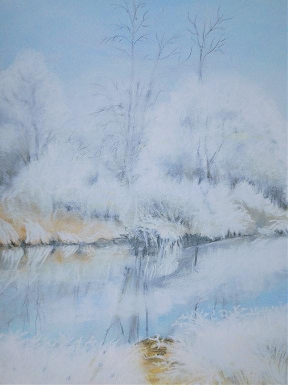 Paysage d'hiver 1. Michèle Truchot Mimi