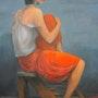La jupe rouge. Jacqueline Hubert
