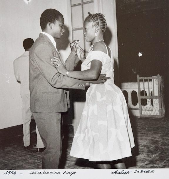 Babenco Boys, 1964. Malick Sidibé Transafrik Art Galerie