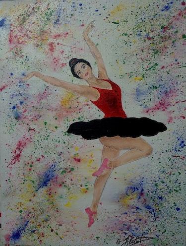 Danse ta vie, meme sur un fil.. Ghislaine Phelut