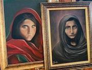 La Niña Afgana y El Recelo. Igarashi