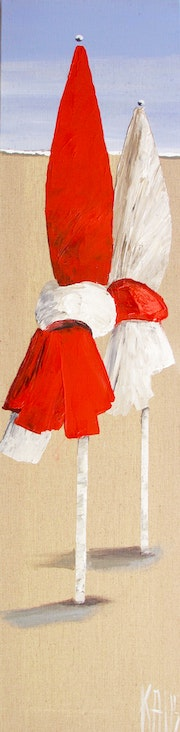 The two parasols. Galerie Arnaud