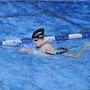 Swim training.