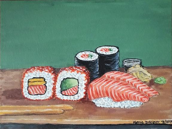 Invitation pour sushi. Alena Drisner Alena Drisner