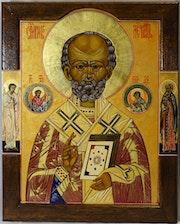 Saint Nicola de Myre dit aussi de Bari.. Jean-Claude Geslain