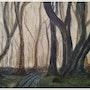 «El bosque de árboles danzantes». Matteo Lecci