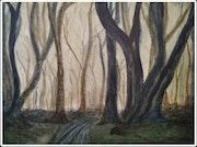 «El bosque de árboles danzantes».