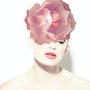 Beauty with rose. Natalia Magdalena
