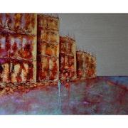 Complicité… Artiste Peintre Nantes. Anne Sophie Artiste Peintre Nantes