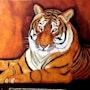 Tigre mevy. Lydie Frances-Ingles