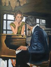 Le pianiste. Nelly Larue