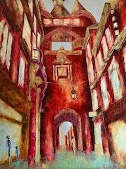 Sérénité… Artiste Peintre Nantes. Anne Sophie Artiste Peintre Nantes