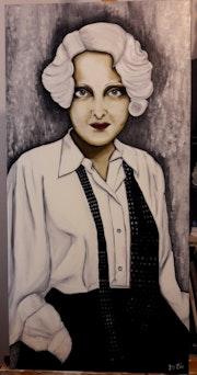 1930 «La garçonne». Lydie Frances-Ingles