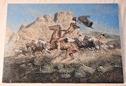Apaches ladrones de caballos. Htittel