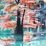Les Cypres chauves dans les étangs de Boulieu. Adyne Gohy