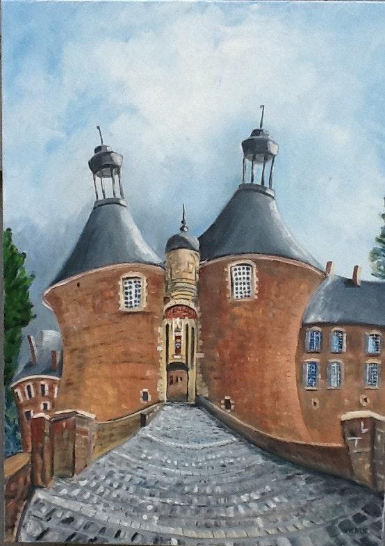 Saint Fargeau, château. Jipe Vieren Jipe Vieren